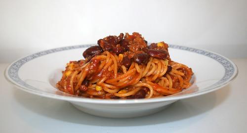 02 - Chili con Carne Spaghetti - Seitenansicht / Side view