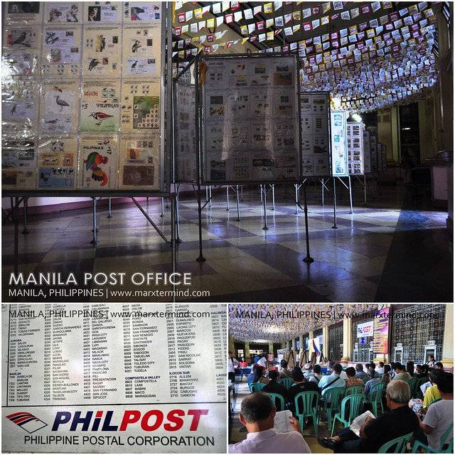 Inside Manila Post Office