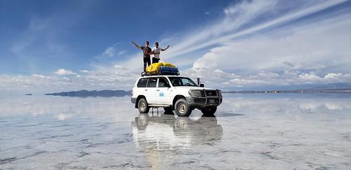 The Salar de Uyuni, Oruro & Potosí, Bolivia.