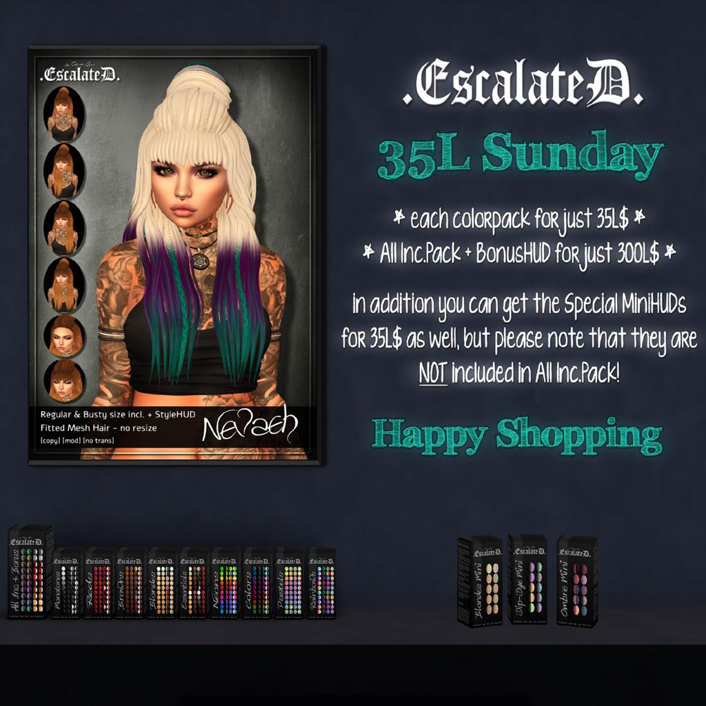 .EscalateD. | 35LSunday | 03.Mar.19 - TeleportHub.com Live!