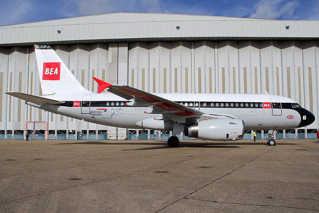 G-EUPJ | British Airways 'BEA' | Airbus A319-131 | London-Heathrow (LHR/EGLL)
