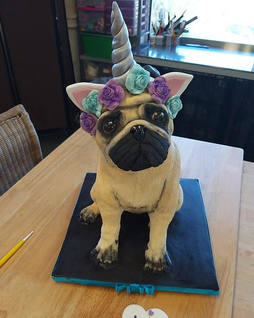 Dog Cake by Karen Mitchell