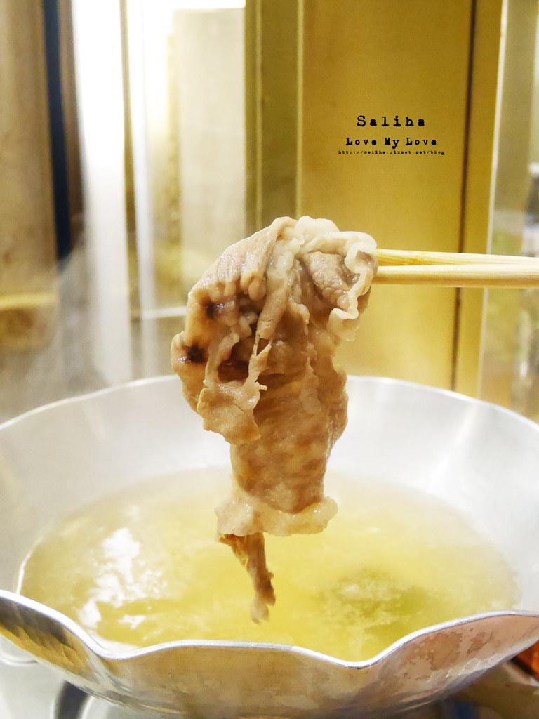 台北大安區利休日本料理好吃高級和牛火鍋 (2)