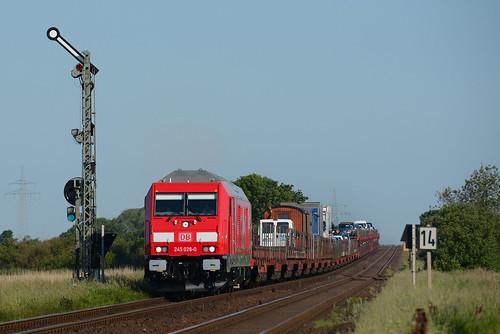 DB 245 026 Klanxbüll 04.06.2016