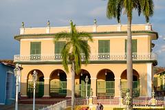 Colonial Building, Plaza Mayor, Trinidad, Cuba