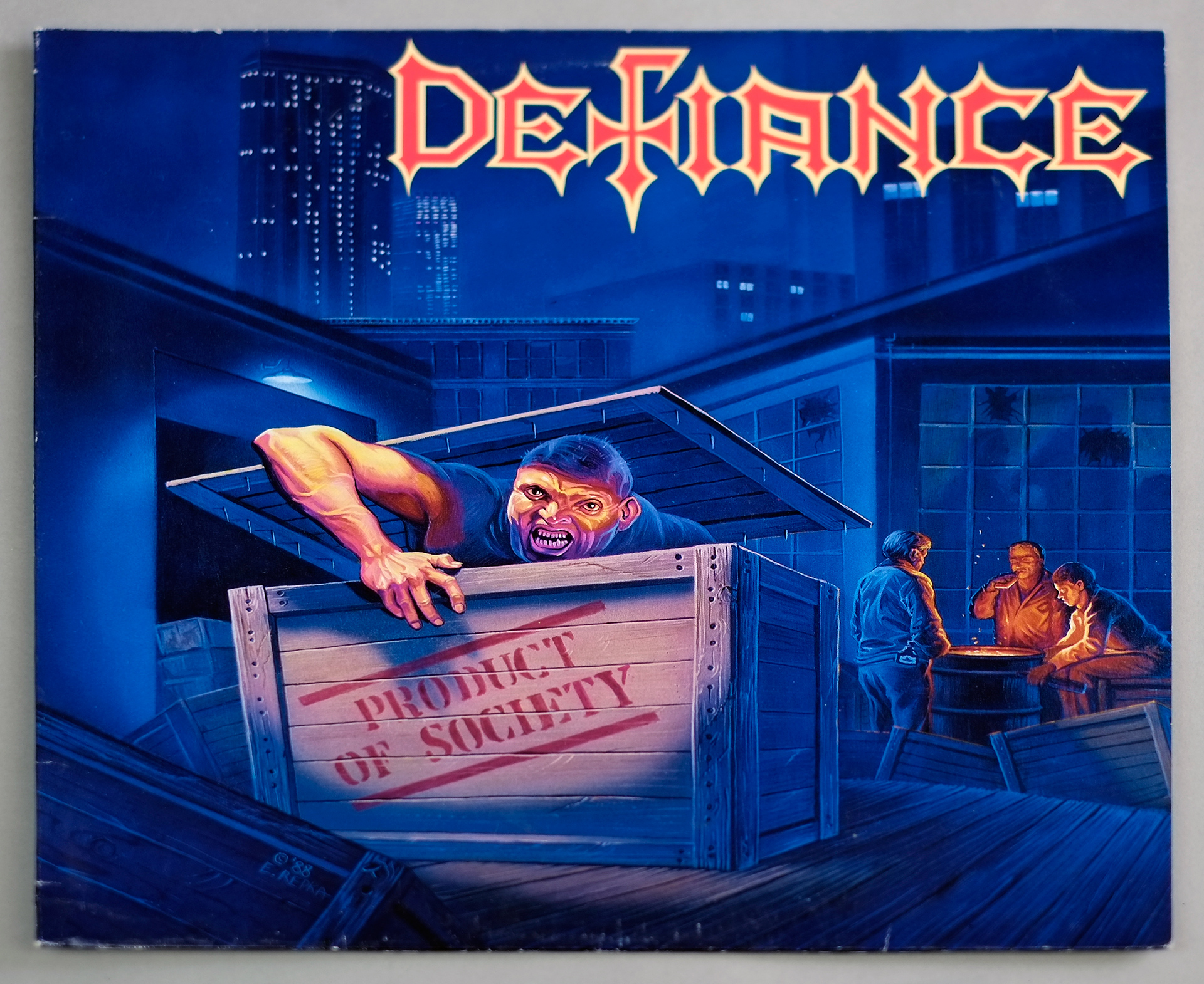 """DEFIANCE PRODUCT OF SOCIETY 12"""" LP VINYL"""