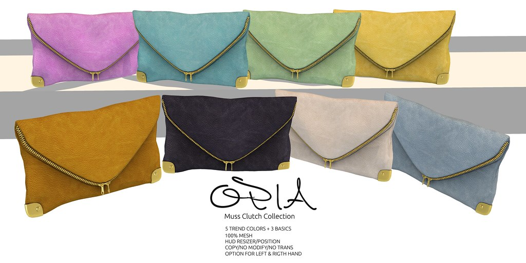 OPIA - Muss Clutch Collection - TeleportHub.com Live!