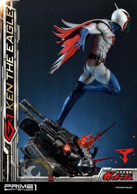 Prime 1 Studio《科學小飛俠》「鐵雄」1/4 比例全身雕像作品!科学忍者隊ガッチャマン 大鷲の健 / G-1号