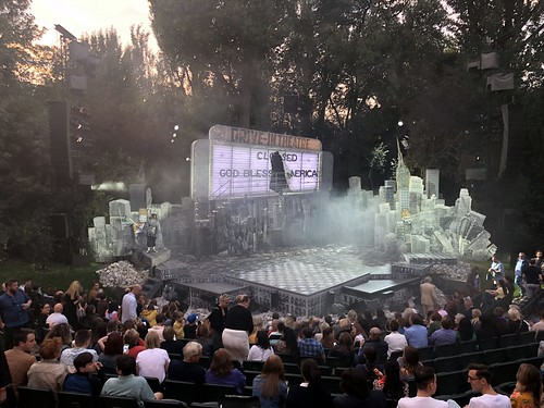 Little Shop of Horrors at the Open Air Theatre, Regent's Park