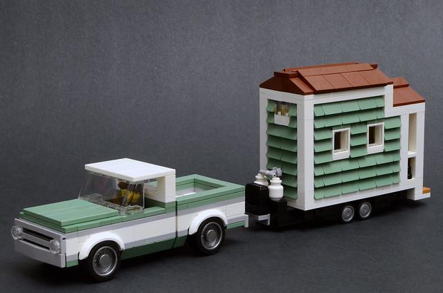 Tiny House & 1970 Chevrolet C10