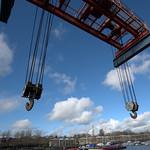 Preston Docks crane