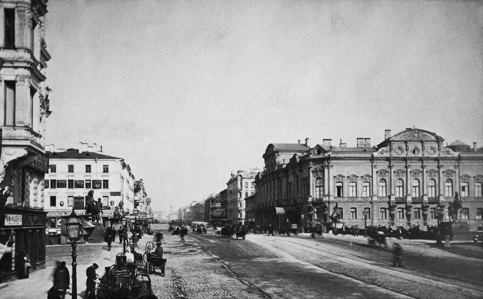 Невский проспект. 1880