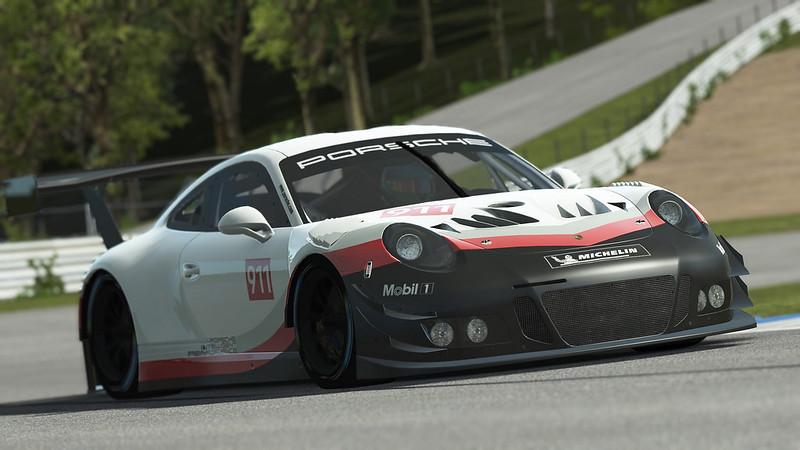 rF2 Porsche 911 GT3 R Front