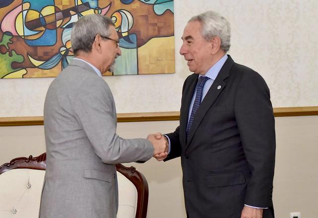 Presidente de Cabo Verde recebeu Secretário Executivo