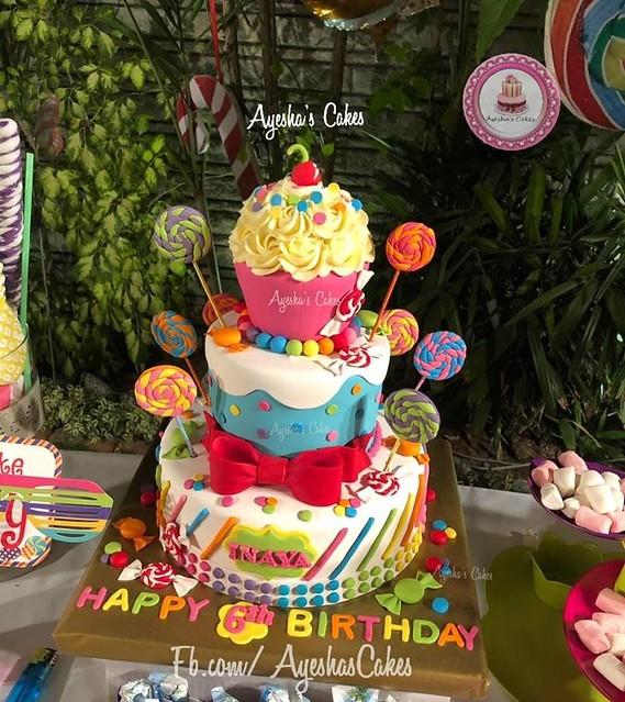 Cake by Reshma Baseem of Ayesha's Cakes