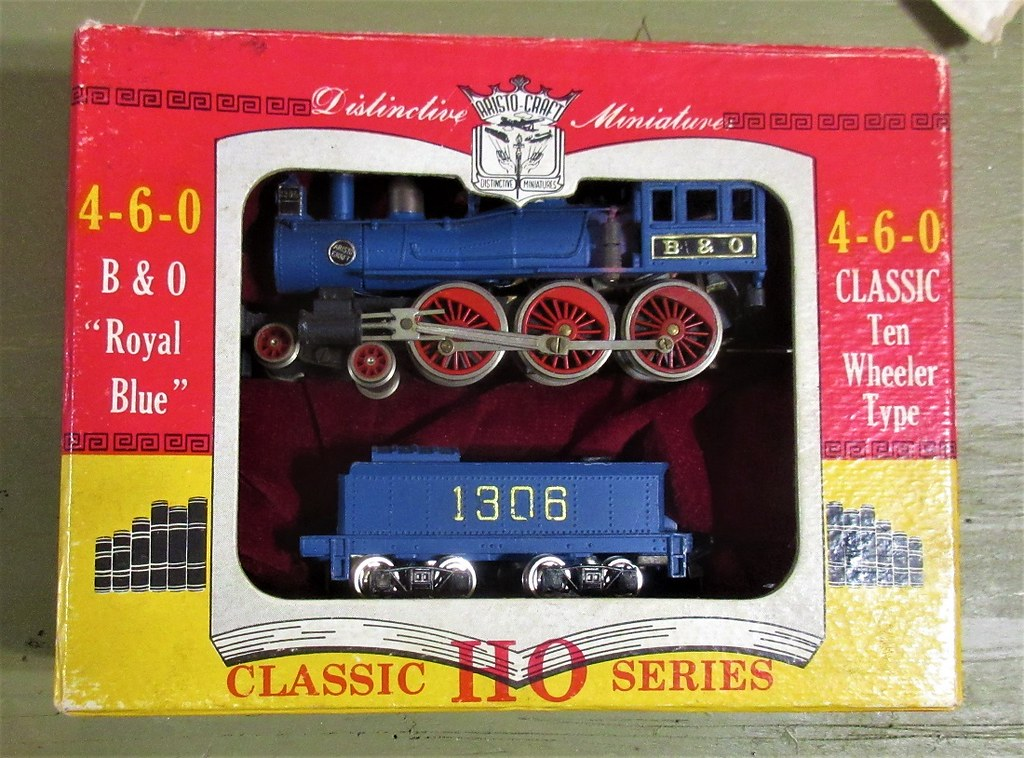 Aristo Craft HO B&O Royal Blue 4-66-0