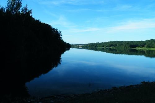 20090528 064 1107 Jakobus See Wasser Wald Morgenstimmung