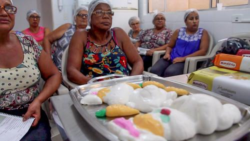 Curso de confeitaria artesanal avançada do Fundo Social