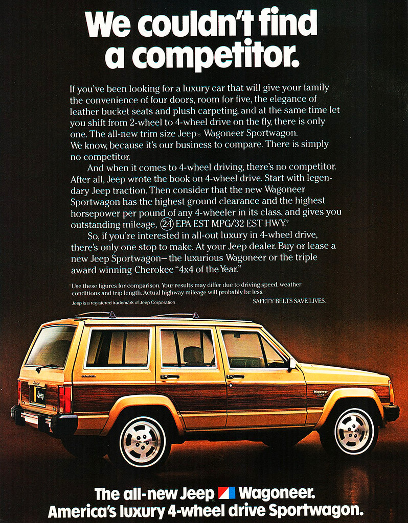 1984 Jeep Wagoneer Sportwagon