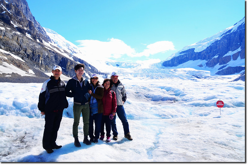 On Athabasca Glacier (2)