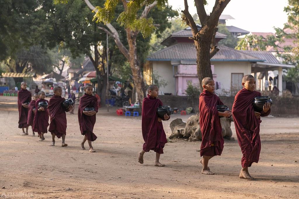 Young monks - Bagan