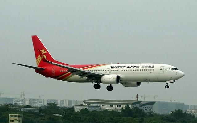 Shenzhen Airlines Boeing 737-800 B-5772