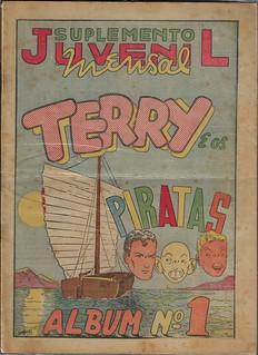 Suplemento Juvenil Terry e os Piratas Album #1
