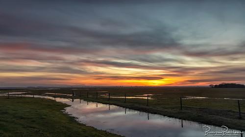 After Sunset Slikken van Flakkee