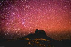 Night sky @Chisos Basin