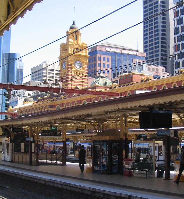 Flinders Street Station 21/2/2009