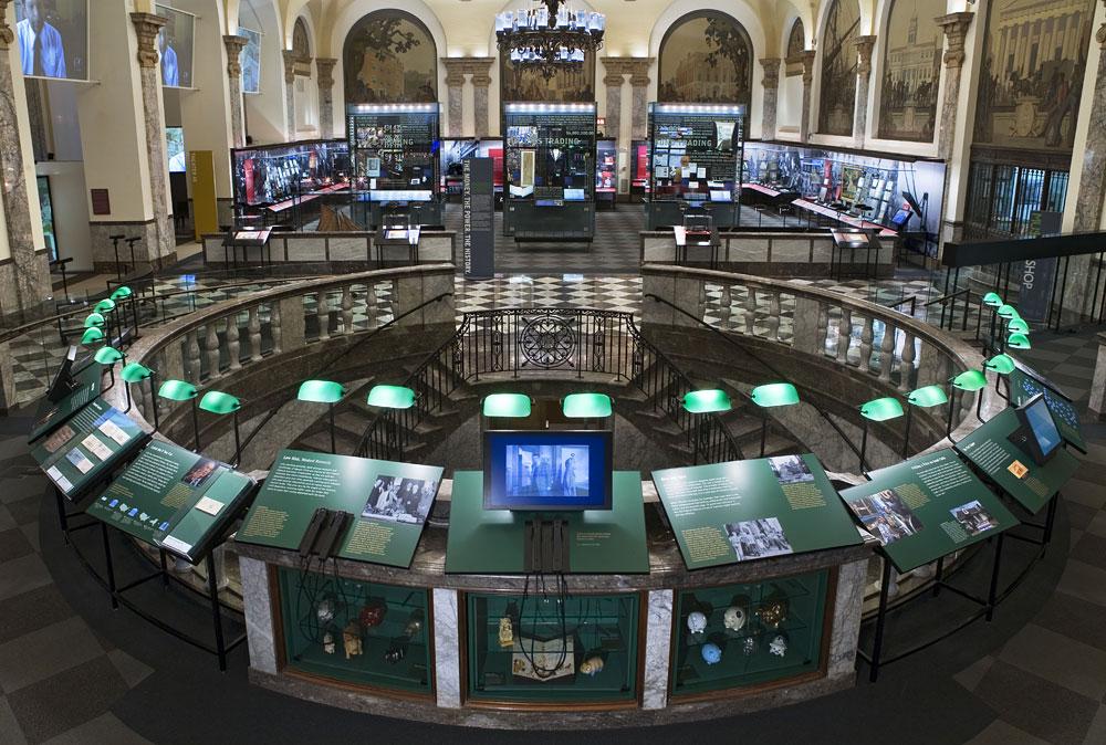 Museum of American Finance interior