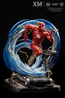 宇宙跑步機快要被你跑壞啦~~ XM Studios Premium Collectibles 系列 DC Rebirth【閃電俠】The Flash 1/6 比例全身雕像作品