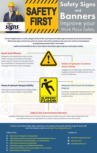 Safety Signs & Banners_Rewise | by Signs of San Antonio