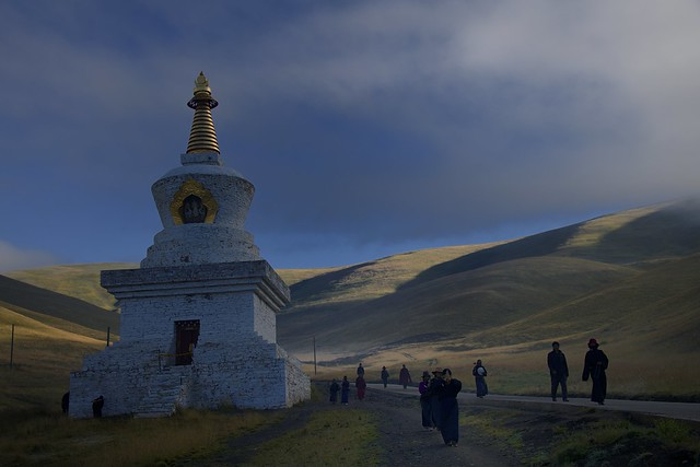 Along the kora of Sershul, Tibet 2018