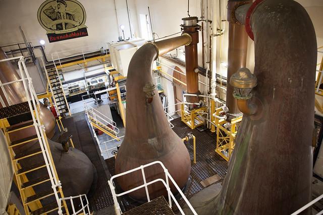 Still room, Bunnahabhain distillery