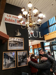 Breakfast in Grenoble at Paul's Pâtisserie