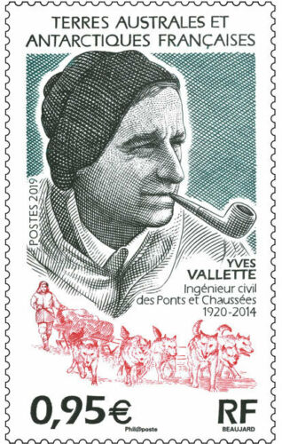 French Southern and Antarctic Lands - Yves Valette, 1920-2014 (January 2, 2019)