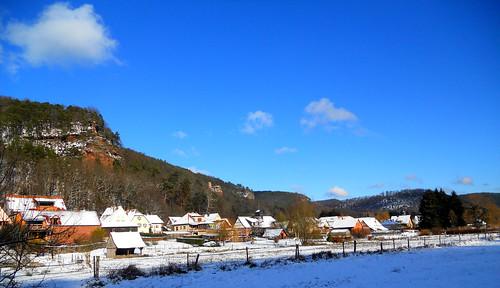 Obersteinbach et son manteau d'hiver