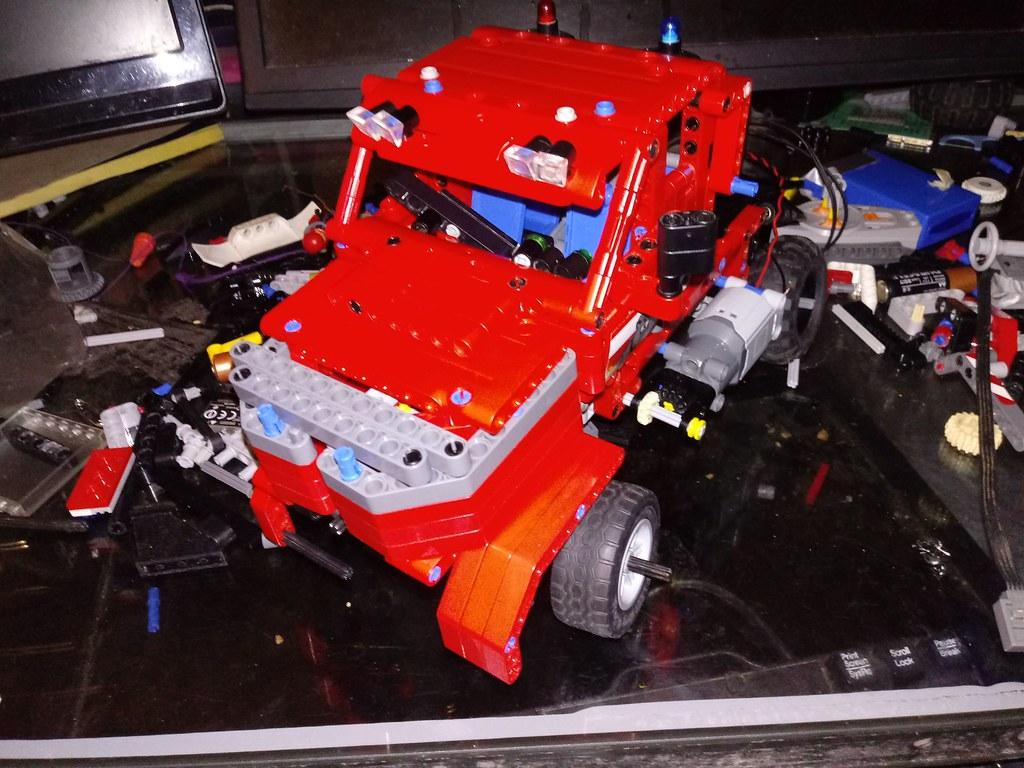 Lego Technic sirslayer big  rig