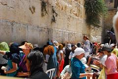 Israel. Jerusalén.  Muro de las lamentaciones (11)