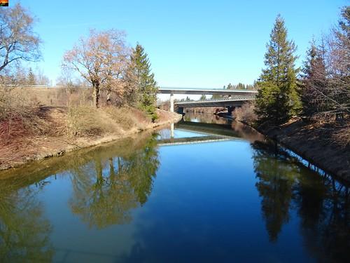 Iller -der Fluss > am Illerkanal bei Kirchdorf