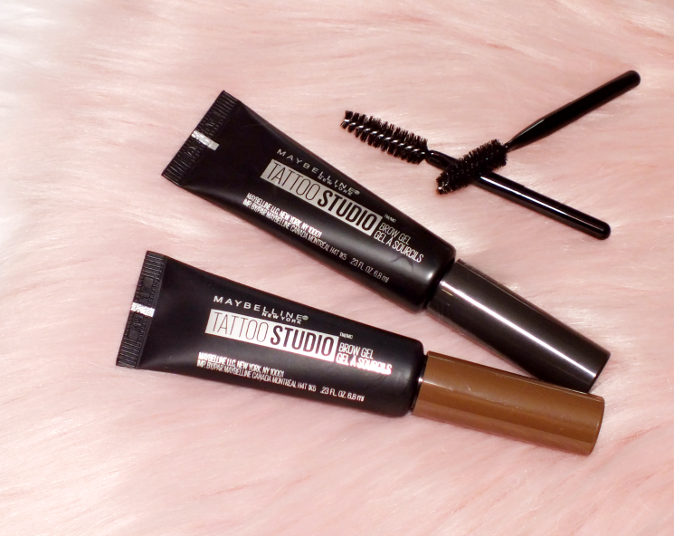 maybelline tattoo studio brow gel medium and deep brown (6)
