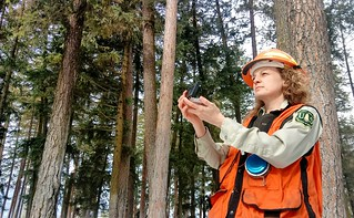 2019-Mar-deLeon-ColvilleNF-womens-history-month-Anna-Lowell-compass | by Forest Service Pacific Northwest Region
