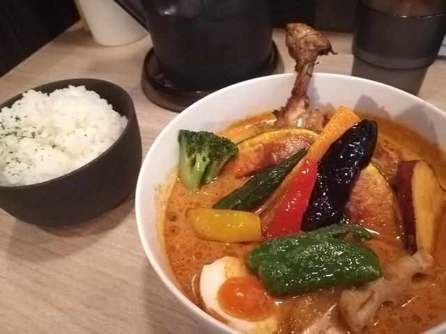 スープカレーマハラジャ、チキン野菜