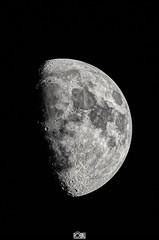 Lune le 15 janvier 2019