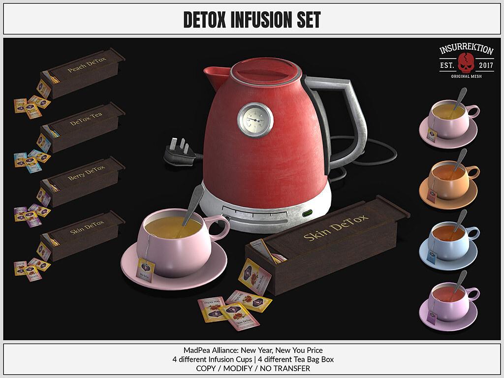 [IK] Detox Infusion Set - TeleportHub.com Live!
