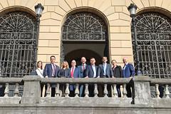 06/02/2019 - Una delegación británica visita Ingeniería para conocer el trabajo de Deusto en materia de Ciberseguridad