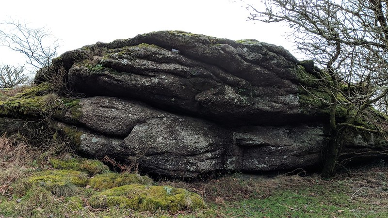 Shaptor Rock top outcrop