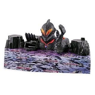《超人力霸王》「迫力的聲響!怪獸之戰!貝利亞城堡」!迫力サウンド!怪獣ぶっ飛び!ベリアルキャッスル