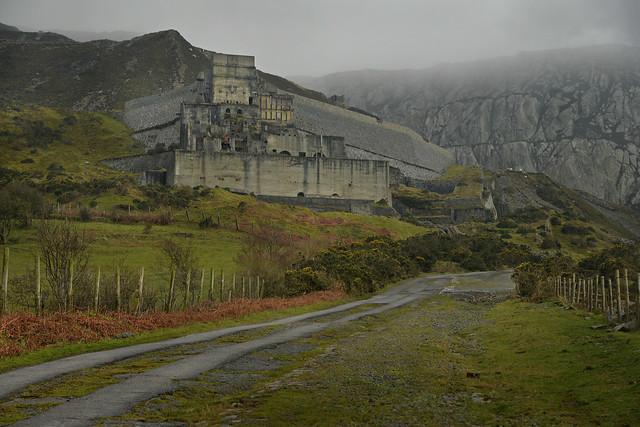 Imposing Castell Trefor